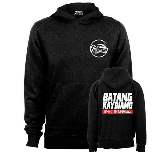 Batang Kaybiang Black Hoodie With Etiquetta
