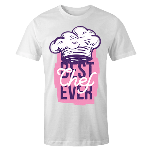 Best chef ever Sublimation Dryfit Shirt