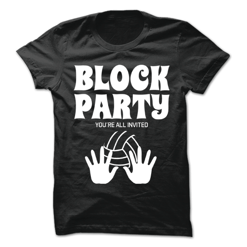 Block Party Black Cotton Shirt