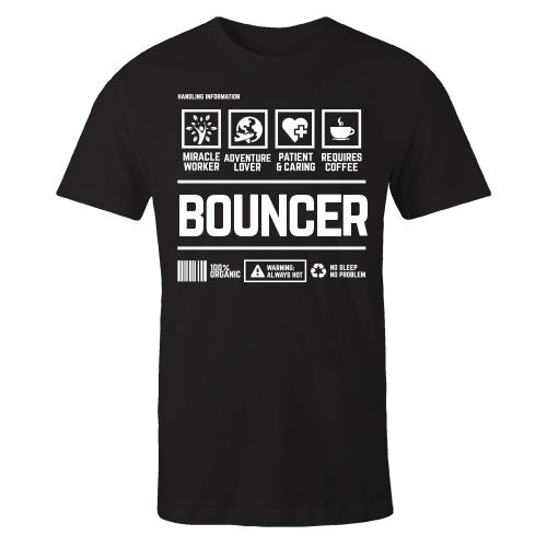Bouncer Handling Black Cotton Shirt