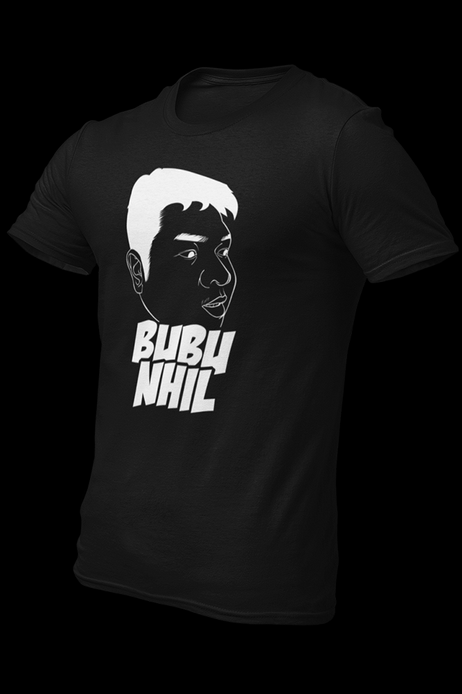 Bubu Nhil Black Cotton Shirt