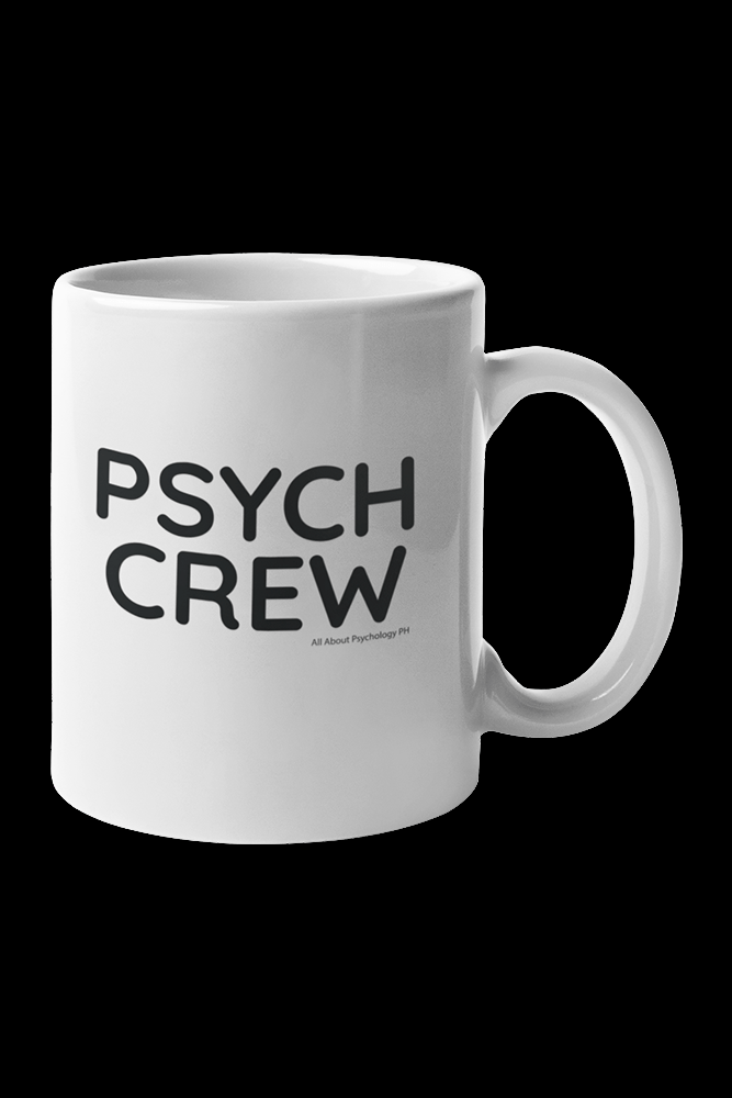 Psych Crew Sublimation White Mug