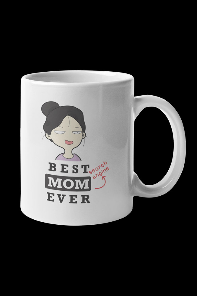 Best mom ever Sublimation White Mug