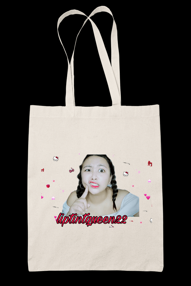 Animated Liptint Queen 22 Sublimation Canvass Tote Bag