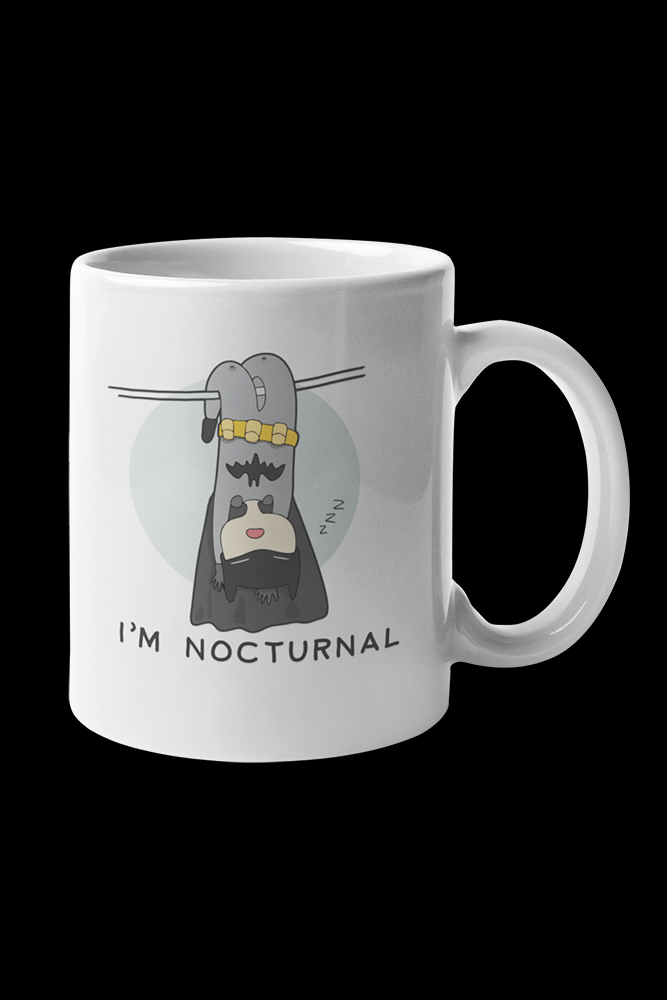 Nocturnal Sublimation White Mug