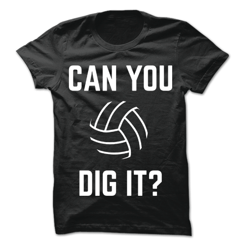 Can You Dig It Black Cotton Shirt