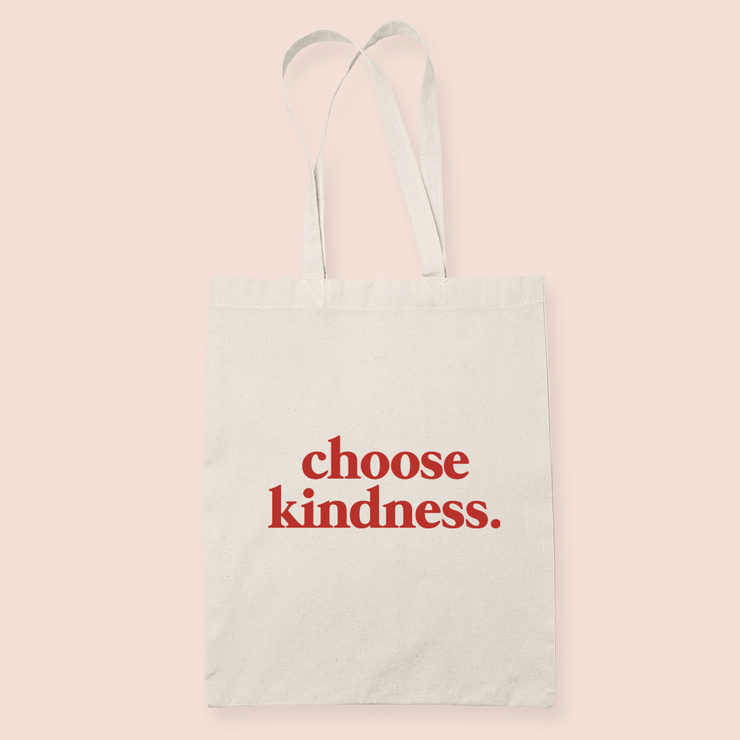 coffee & midnights choose kindness sublimation canvas tote bag