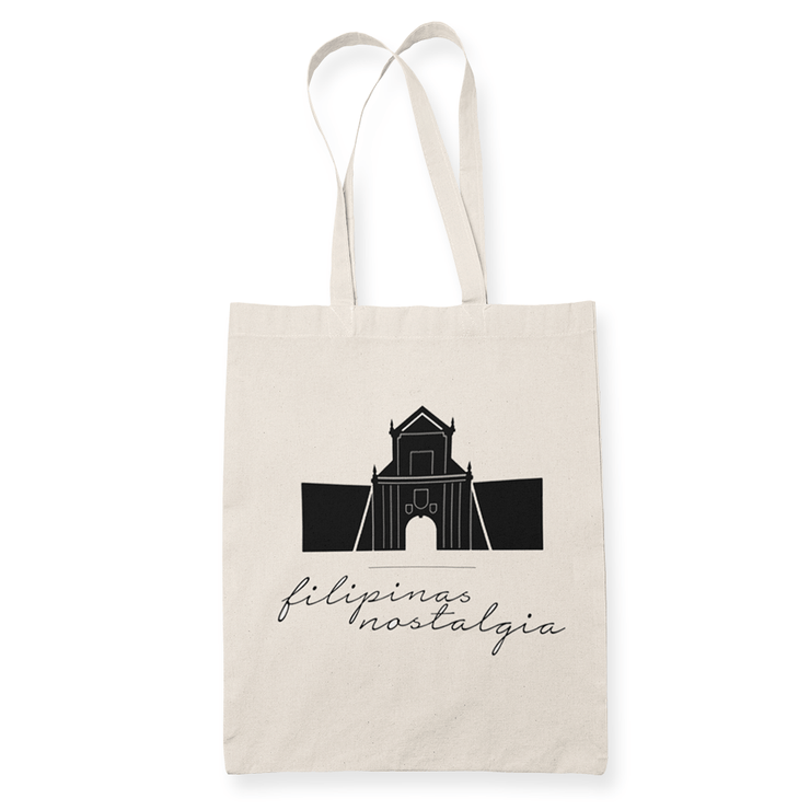 Filipinas Nostalgia v5 Sublimation Canvass Tote Bag