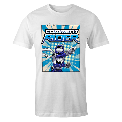Comment Rider Sublimation Dryfit Shirt