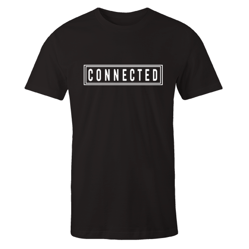 Connected Black Cotton Shirt
