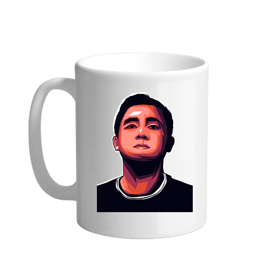 DaddyEj Gaming Sublimation White Mug