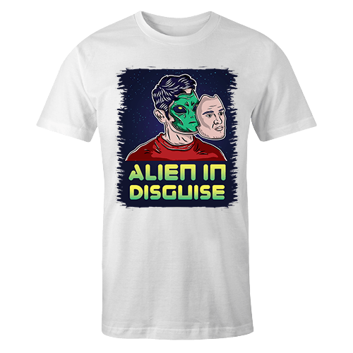 Alien in Disguise Sublimation Dryfit Shirt