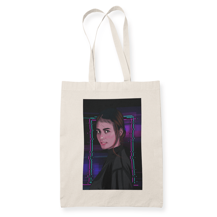 Ela Gaming Graphic Sublimation Canvass Tote Bag