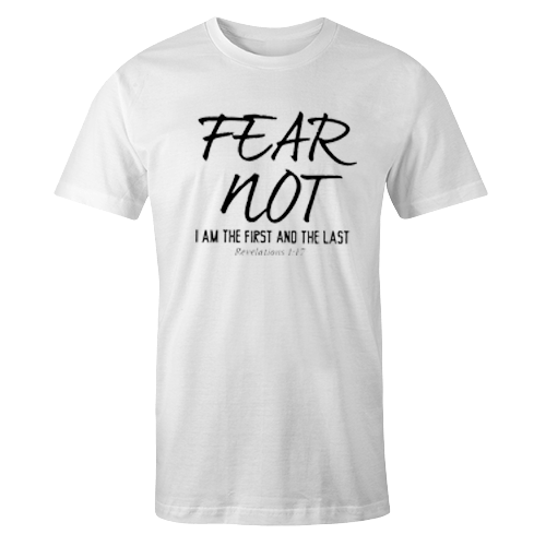 Fear Not White Cotton Shirt
