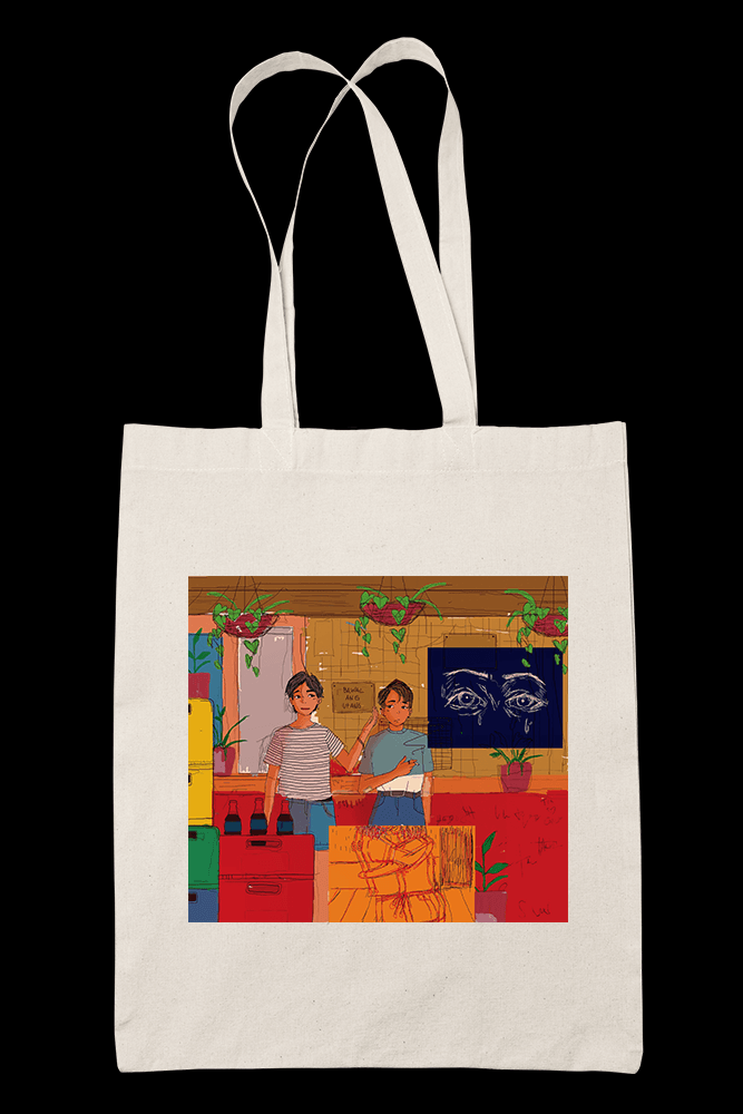 HARAP NG TINDAHAN Sublimation Canvass Tote Bag