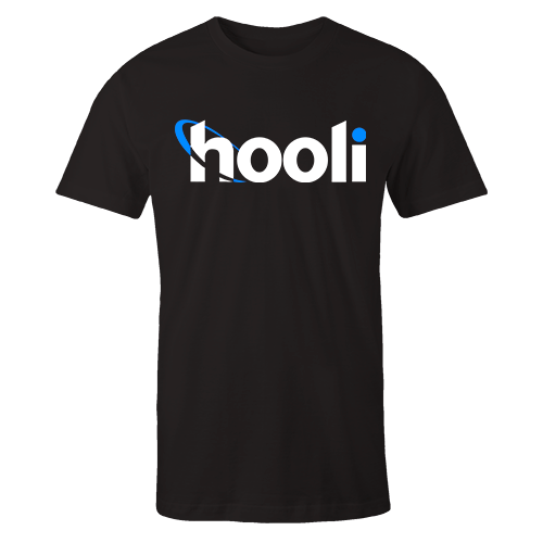Hooli v3 Black Cotton Shirt