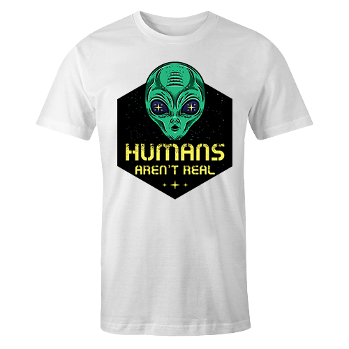 Humans aren't real Sublimation Dryfit Shirt