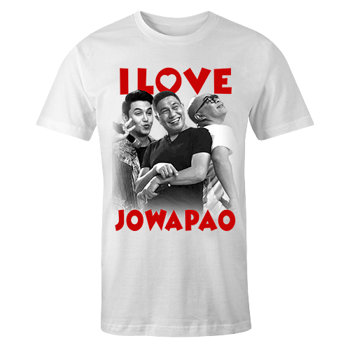I Love Jowapao Sublimation Dryfit Shirt
