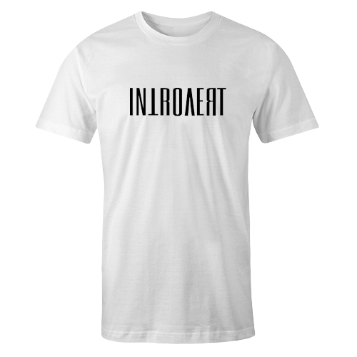 Introvert White Cotton Shirt