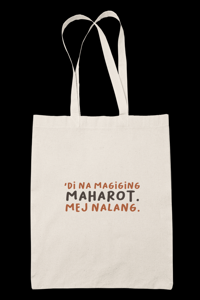 MEJ MAHAROT NALANG Sublimation Canvass Tote Bag