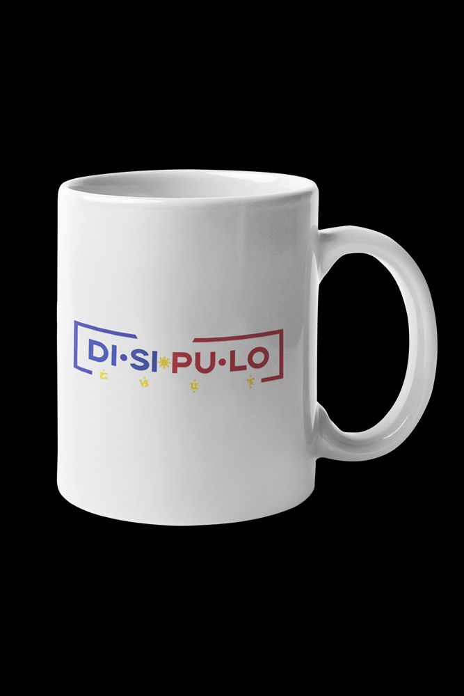 Disipulo Sublimation White Mug