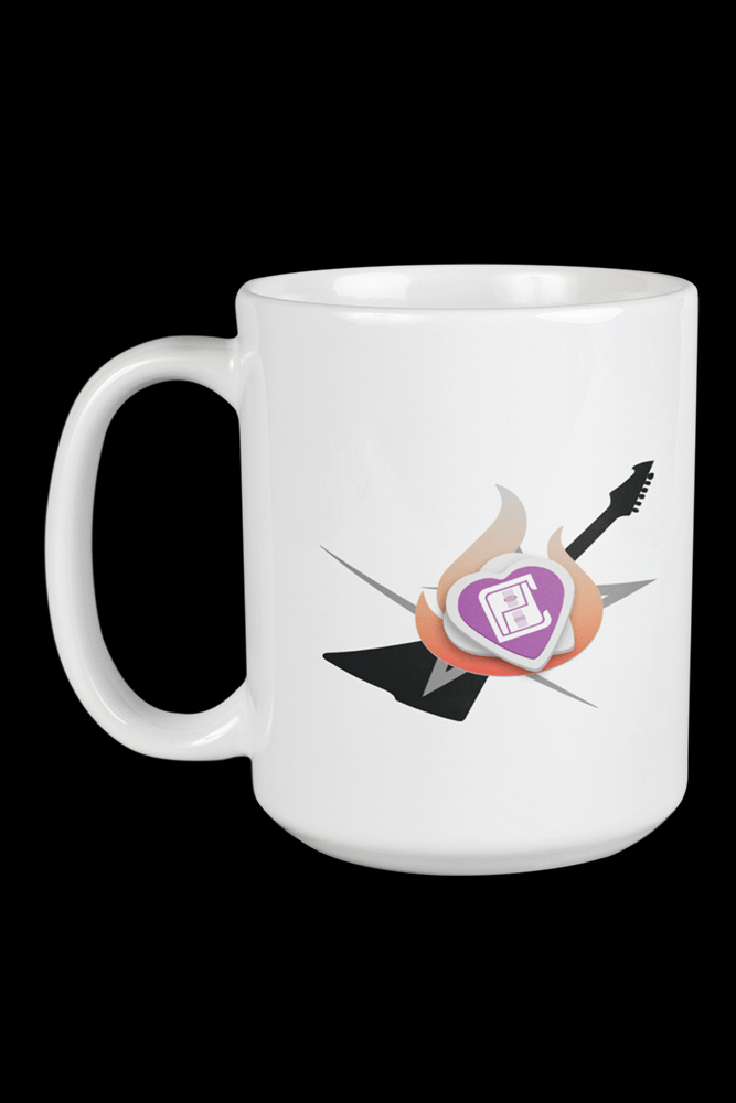 Level 6 With Back Side Print Sublimation White Mug