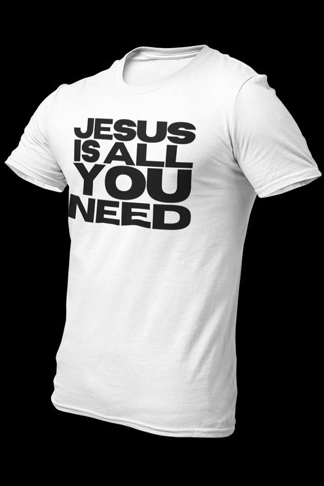 Jesus is all you need Cotton Shirt