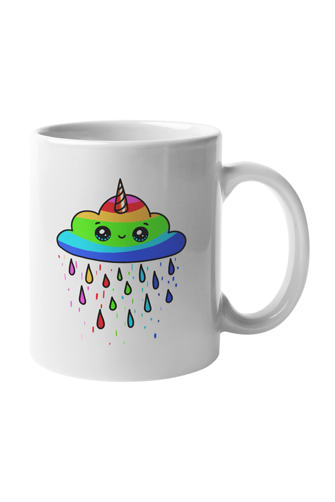 Smile  Sublimation White Mug