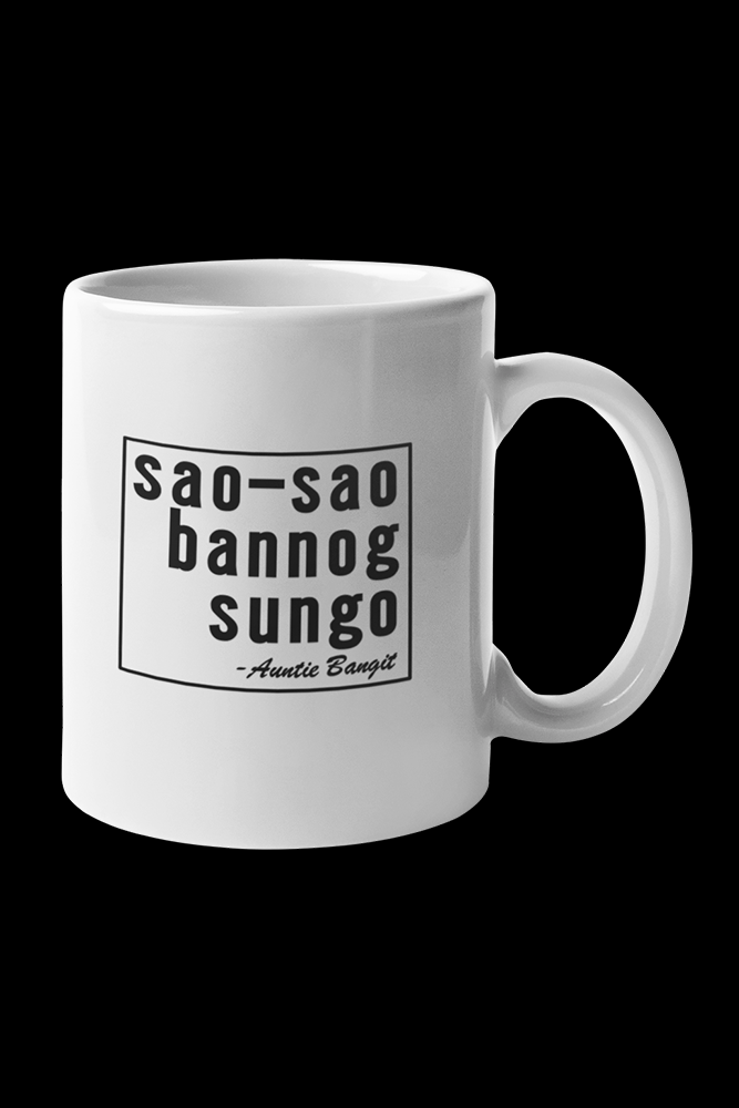 sao-sao Sublimation White Mug