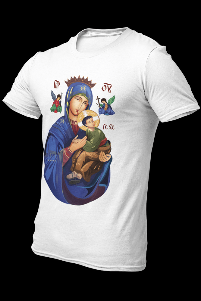 MOTHER OF PERPETUAL HELP  v2 Sublimation Dryfit Shirt