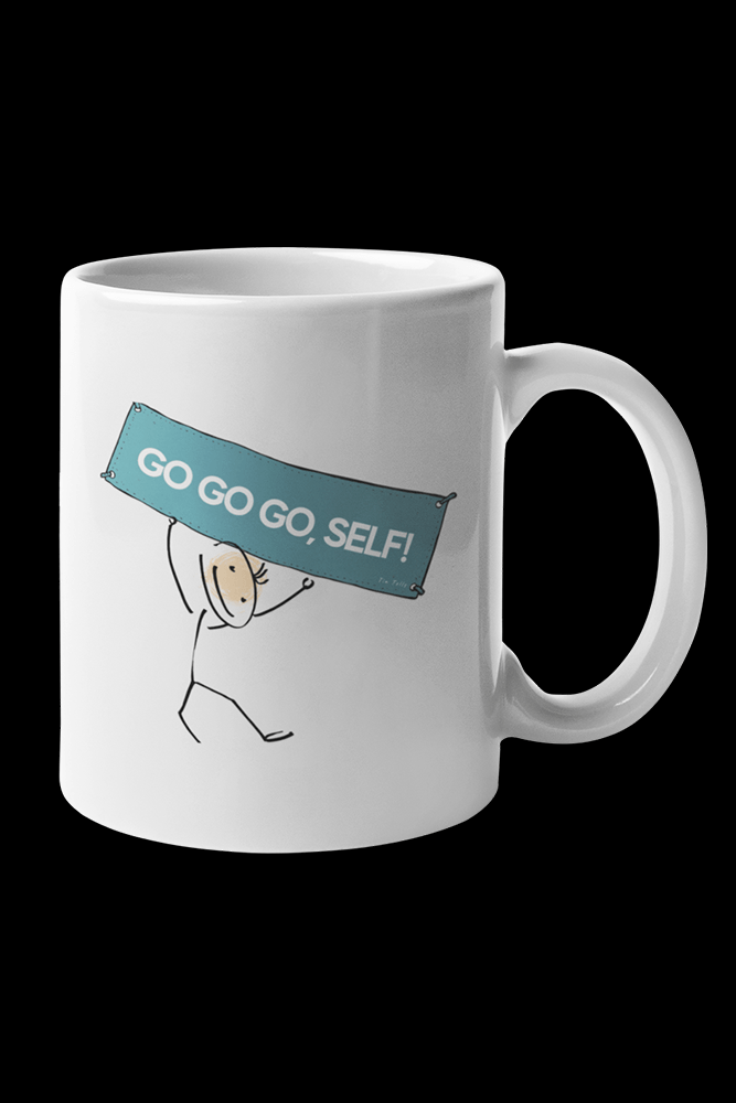 go Sublimation White Mug