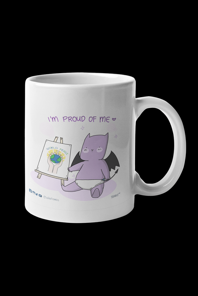 BB Demon Proud Sublimation White Mug