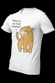 Hungry cat Sublimation Dryfit Shirt With Logo At The Back