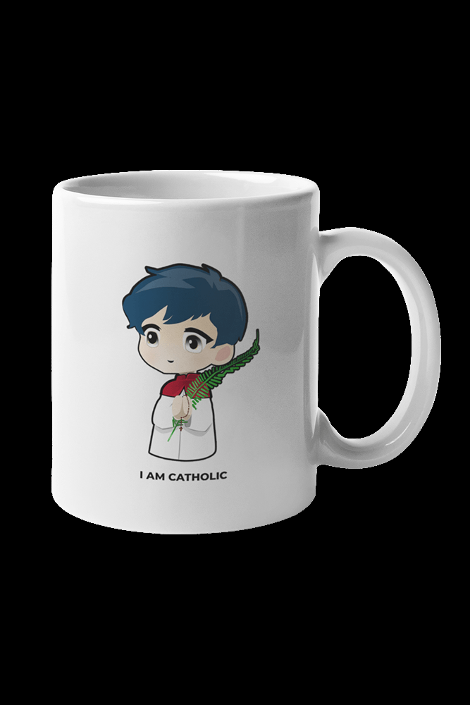 I am Catholic Sublimation White Mug