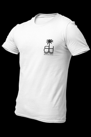 BH Buko White Cotton Shirt w/back print