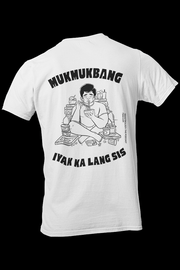 Mukmukbang Sublimation Dryfit Shirt w/Back Print