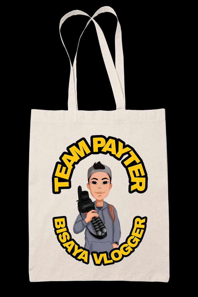 Team Payter Sublimation Canvass Tote Bag