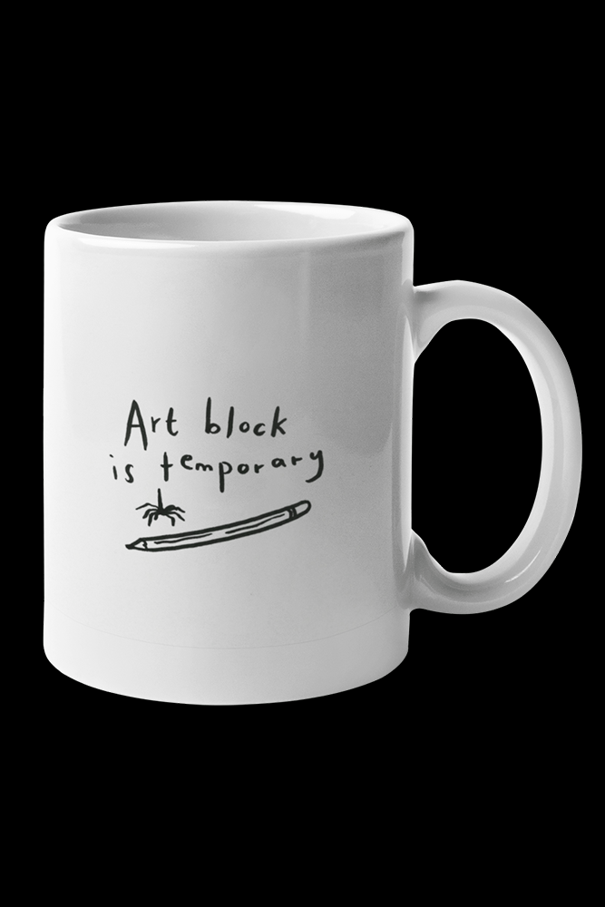 Art block Sublimation White Mug