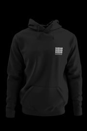 KBGN Black Hoodie with Back Print