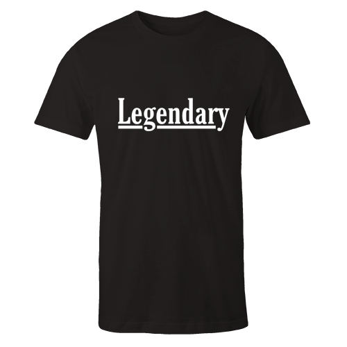 Legendary Black Cotton Shirt
