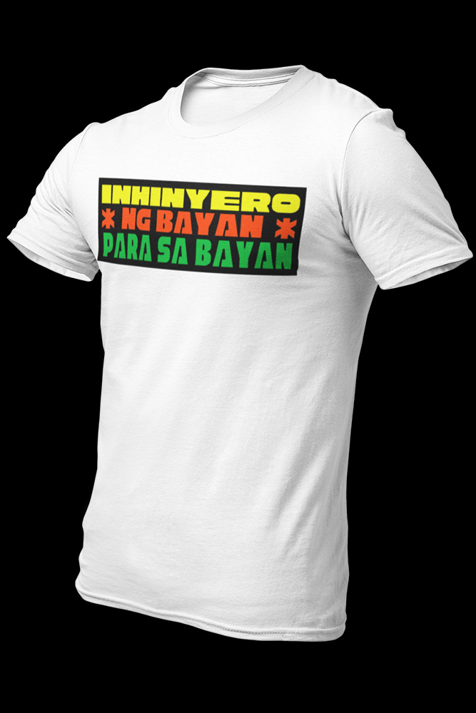 Para sa Bayan Sublimation Dryfit Shirt