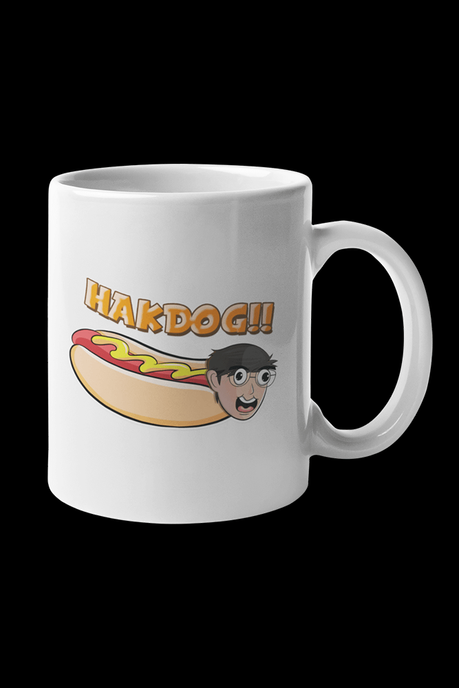 Hakdog Sublimation White Mug