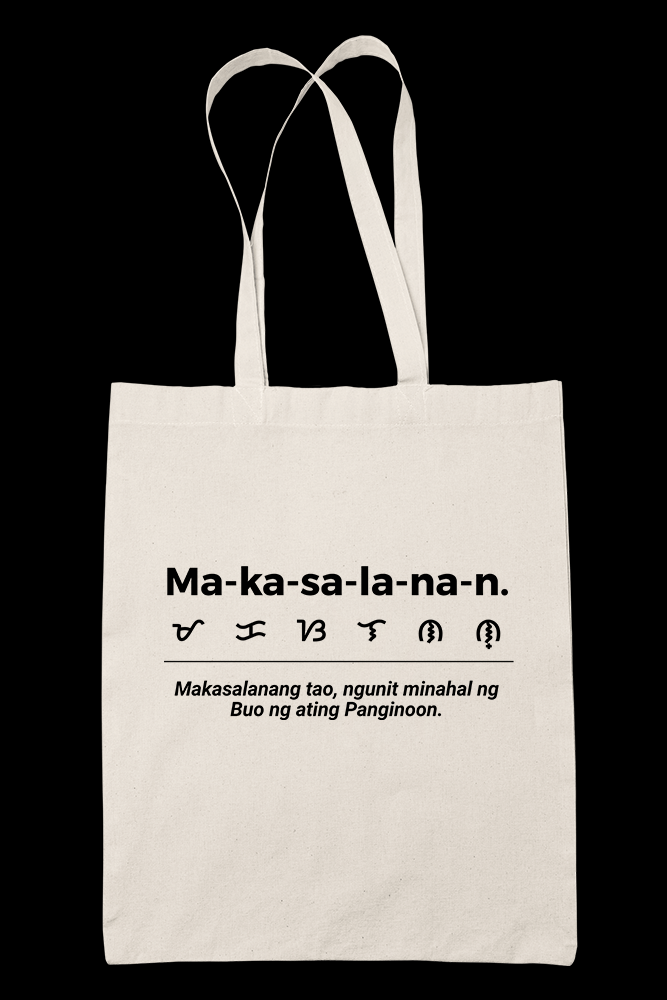 makasalanan Sublimation Canvass Tote Bag