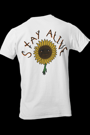 Stay alive Sublimation Dryfit Shirt w/back print