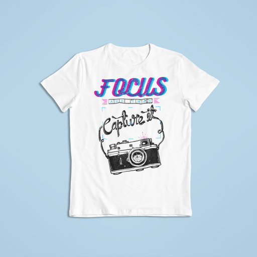 Camera Focus Sublimation Dryfit Shirt