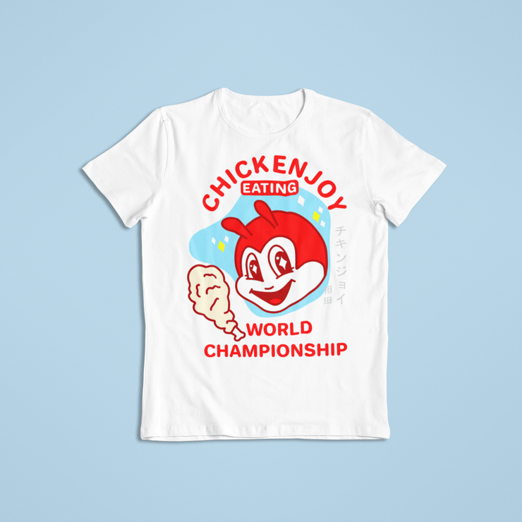 Chickenjoy World Champ Sublimation Dryfit Shirt