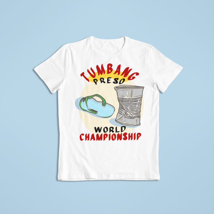 Tumbang Preso World Champ Sublimation Dryfit Shirt