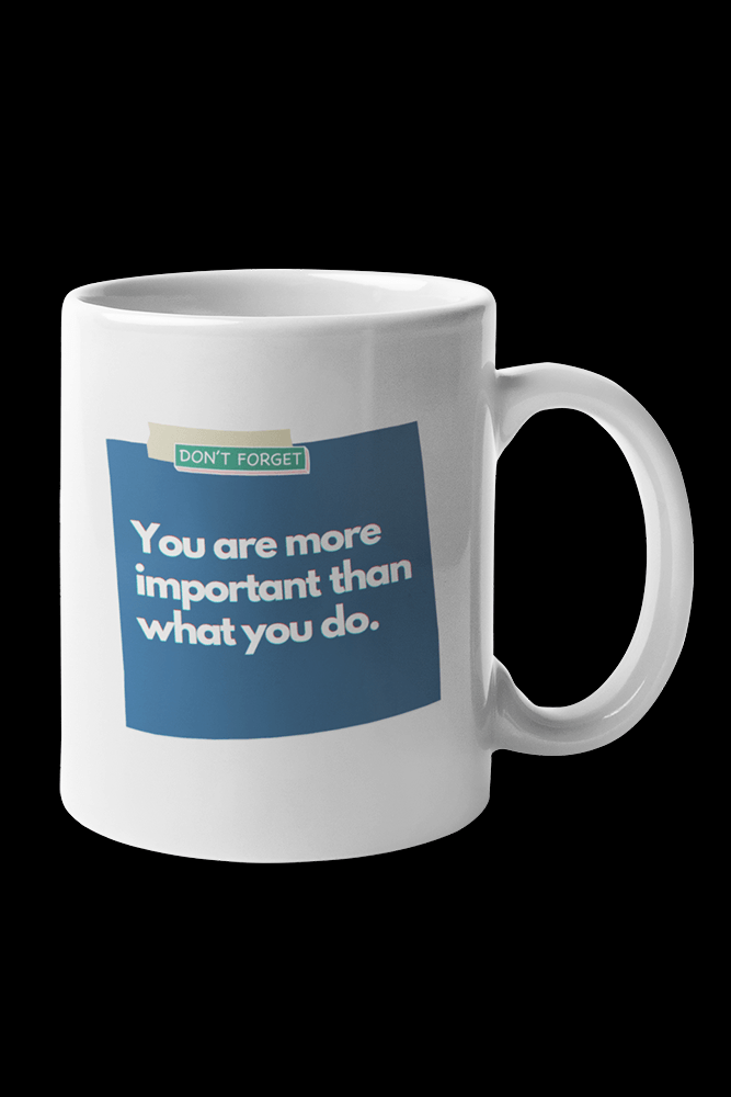 Important Sublimation White Mug