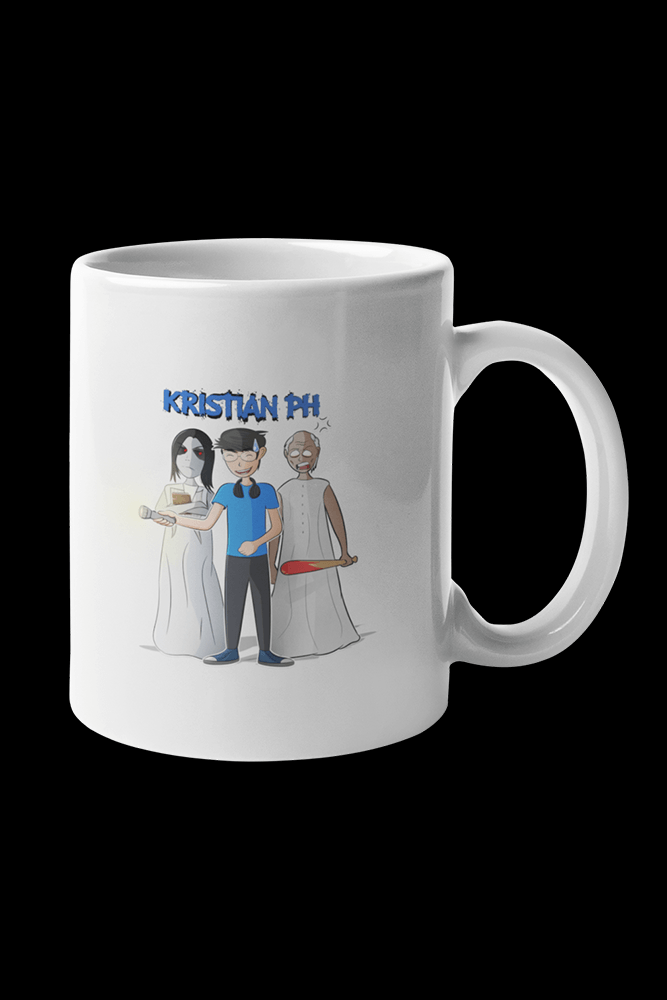 Granny Slendrina Kristian PH Sublimation White Mug