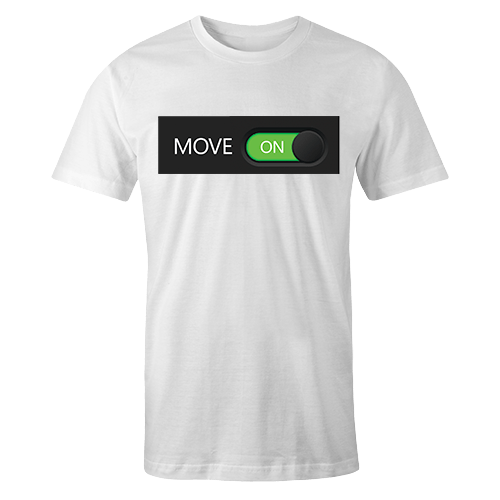 Move on Sublimation Dryfit Shirt
